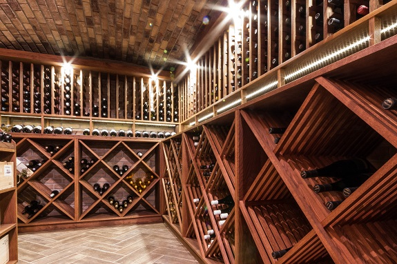 wine, wine cellar, lighting